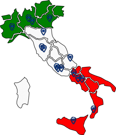pnei centers and professionals in Italy